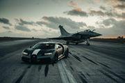 Keren, Bugatti Edisi Spesial Adu Kencang dengan Pesawat Jet Incaran Prabowo