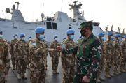 KSAL Minta Awak KRI Sultan Hasanuddin Teruskan Kesuksesan dalam Misi Perdamaian Dunia