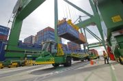 PTPP Geber Pembangunan Maritime Tower & Terminal Peti Kemas Kalibaru