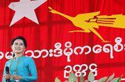 KPU Myanmar Bubarkan Partai Aung San Suu Kyi
