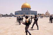 Baru Gencatan Senjata, Polisi Israel Kembali Serang Jamaah di Masjid Al-Aqsa