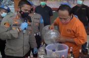 Racik dan Oplos Miras Impor Ilegal di Kamar Kos, Pria Asal Jakarta Dibekuk di Bali