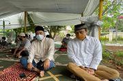 Salat Jumat di Tenda Masjid At Tabayyun, Dwiki Dharmawan :Serasa Kita Salat di Padang Arafah