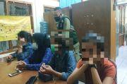 Asyik Pesta Miras, 5 Remaja Putri dan 4 Remaja Putra Diringkus Satpol PP Ciamis