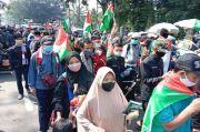 Bela Rakyat Palestina, Ribuan Orang Longmarch dari Gedung Sate Bandung