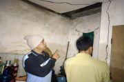 Diguncang Gempa Bermagnitudo 6,2 Rumah Warga di Lereng Semeru Retak-retak