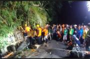 Truk Ekspedisi PT Pos Indonesia Terjun ke Jurang, Sopir Tewas Terjepit