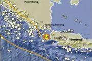 Dalam 2 Menit, 2 Gempa Bumi Bermagnitudo 5,0 dan 5,4 Guncang Barat Laut Banten