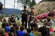 Sulitnya Medan Geografis Tak Surutkan Satgas Nemangkawi Buru Kelompok Teroris di Papua