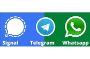 Telegram dan Signal Ketiban Durian Runtuh Aturan Baru WhatsApp