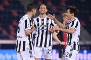 Tertolong Hasil Imbang Napoli, Juventus Masuk Empat Besar Serie A