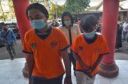 Sok Jagoan Main Keroyok Hingga Tewas, Dua ABG Tertunduk saat Ditangkap Polisi