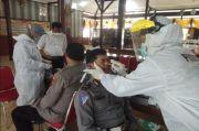 Usai Tugas di Lapangan, Ratusan Personel Polres Salatiga Jalani Swab Antigen