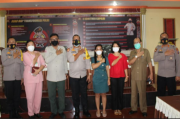 Kapolres Minta Pimpinan Rumah Sakit di Pematangsiantar Dukung Vaksinasi Massal