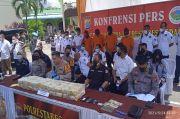 Bongkar Jaringan Penyelundupan Narkoba, Polrestabes Medan Sita 40 Kg Sabu
