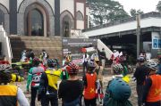 Gowes Solidaritas Palestina, Masjid dan Musala di BSD Kumpulkan Rp800 Juta untuk Disumbangkan
