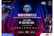 Dukung Ekosistem Mobile Gaming, 3 Indonesia Gelar H3RO Esports Tournament 2.0
