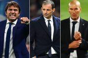Spekulasi Perpindahan Pelatih: Zidane ke Juventus, Allegri-Inter, Conte-Madrid