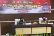 Kunjungi Satgas Madago Raya, Panglima TNI dan Kapolri: Negara Tak Akan Kalah dari Teroris