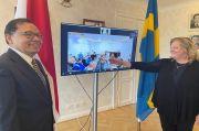 Difasilitasi KBRI Stockholm, PT PAL Teken Perjanjian MRO Kapal Perang dengan BOFORS AB