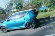 Tabrakan Beruntun di GT Pasteur Bandung, 4 Mobil Ringsek Parah