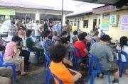 Kapolres Pematangsiantar dan Bhabinkamtibmas Antar Jemput Lansia Vaksin COVID-19