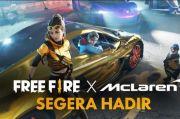Kolaborasi dengan McLaren Racing, Free Fire Hadirkan Supercar di Game
