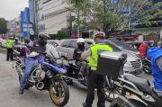 Masuk Jalur Busway, Pengendara Moge Ditilang Polisi