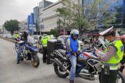 4 Pengendara Rombongan Moge yang Terobos Jalur Busway Kabur dari Polisi