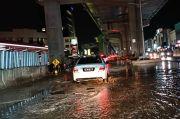 Diguyur Hujan Lebat, Sejumlah Ruas Jalan di Jakarta Utara Tergenang