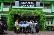 Tingkatkan Kualitas SMK, Wahana Berikan 3 Motor Sarana Praktek Siswa