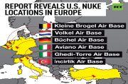 Lokasi Bom-bom Nuklir AS di Eropa Terungkap Gara-gara Kartu Flash