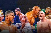 Anthony Joshua Sebut Tyson Fury Sembunyi di Ketiak Ayahnya