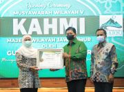 KAHMI Jatim Beri Award ke Gubernur Khofifah Atas Penanganan COVID-19