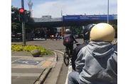 Pesepeda Terobos Lampu Merah, Netizen Beri Sindiran Menohok