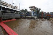 BPBD DKI Laporkan Update Tinggi Muka Air Pasar Ikan Siaga 2