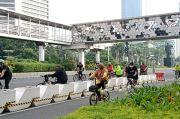 Hanya Segelintir Pesepeda Melintas di Jalur Sepeda, Selebihnya Banyak di Jalur Umum