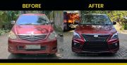 Biar Kekinian, Wajah Toyota Innova Lama Dibuat Seperti Lexus