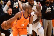 Anthony Davis Cedera, Lakers Dibungkam Phoenix Suns di Game 4