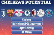 Juara Liga Champions, Chelsea Berpotensi Terjebak di Grup Neraka