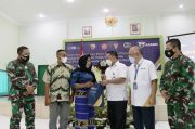 Asabri Salurkan SRKK ke Ahli Waris Prajurit yang Gugur di Papua