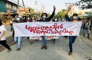 Melawan Junta Militer, Guru dan Siswa Myanmar Menolak Masuk Sekolah