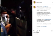 Pengemudi Diduga Mabuk, Mobil Seruduk Dua Pemotor di Jalan Gatot Subroto