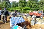 Timbulkan Kerumunan, Ratusan Lapak PKL di Puncak Dibongkar