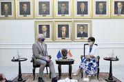 Bertemu Petinggi UE, Menlu Retno Minta Sawit Indonesia Diperlakukan Adil