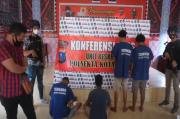 Komplotan Pencuri Kotak Amal di Labuhanbatu Ditembak Polisi