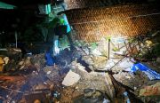 Longsor di Proyek Double Track Kereta Api Bogor-Sukabumi, Timpa Dua Rumah Warga