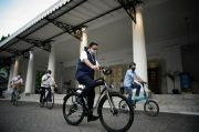 Anies: Idealnya Jakarta Miliki Jalur Sepeda Sepanjang 500 Km