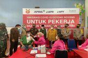 Ribuan Karyawan Perusahaan di Riau Mulai Divaksin Gotong Royong