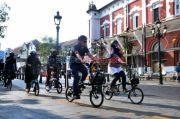 Menhub Ajak Masyarakat Biasakan Naik Sepeda Menuju Simpul Transportasi Umum